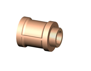 "1/2"" Coupling W/Face Bushing"